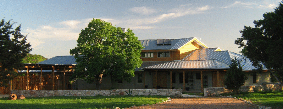 Entry Approach - First Austin LEED Home